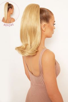 Bouncy Luxe 18 Curly Ponytail