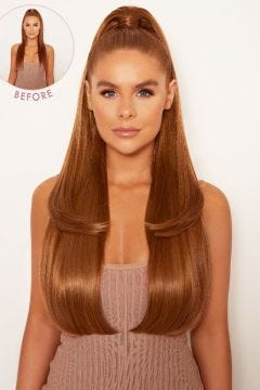 Ultimate Half Up Half Down 22'' Straight Extension and Pony Set