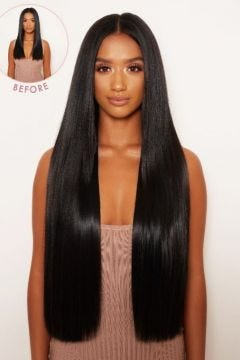 """Super Thick 26"""" 5 Piece Statement Straight Clip In Hair Extensions"""