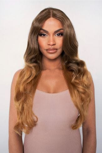 The Honey - Golden Loose Waves Lace Front Wig