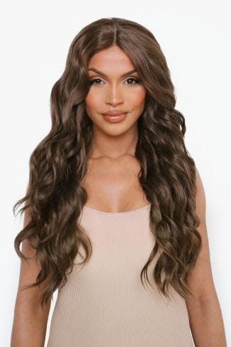 The Kendall - Chestnut Brown Angel Waves Lace Front Wig