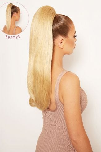 Sleek Full-Body 22 Ponytail